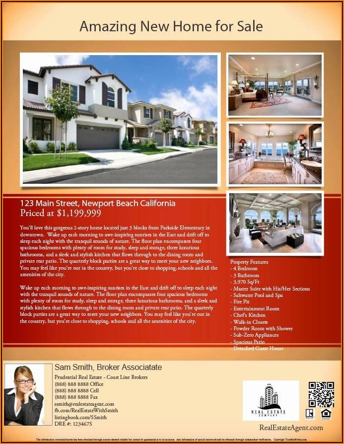 Real Estate Pdf Template