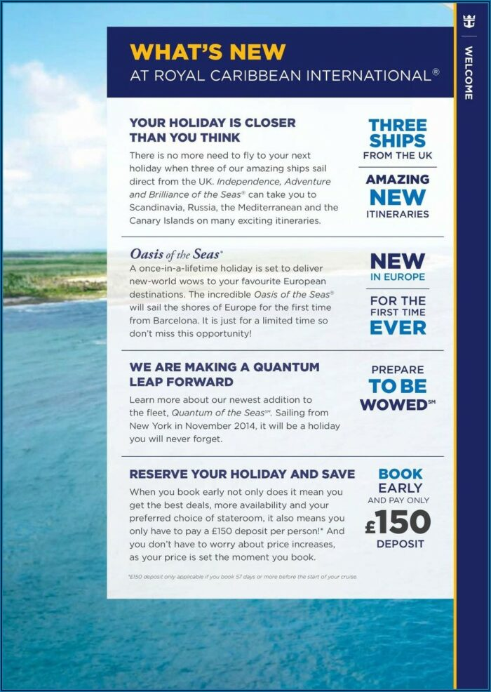 Royal Caribbean Alaska Shore Excursions Brochure