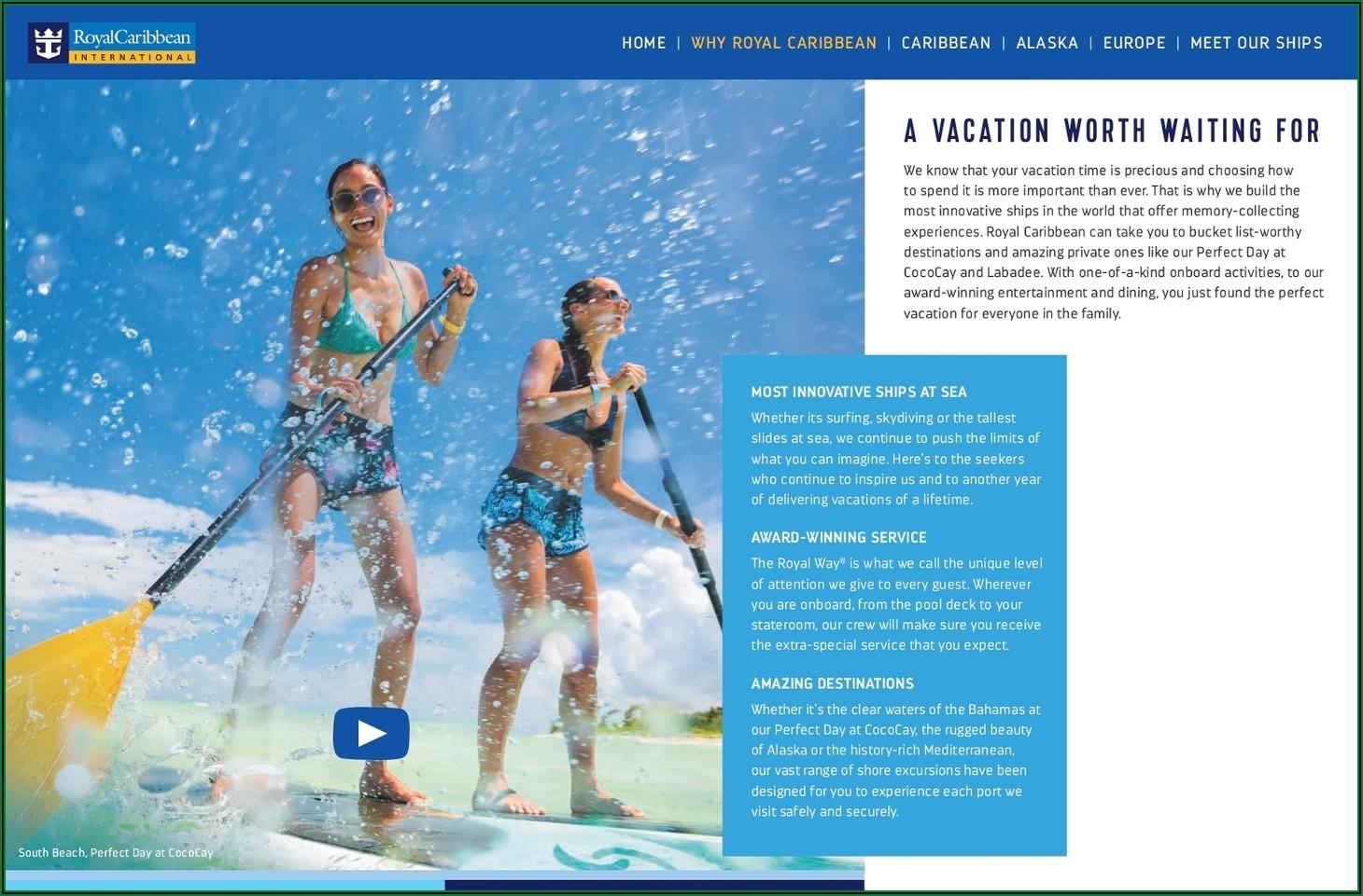 Royal Caribbean Brochure 2019 Pdf