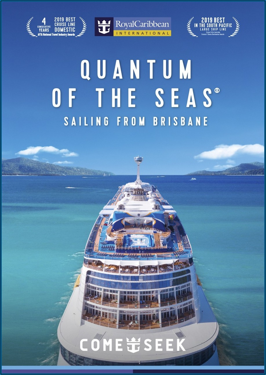 Royal Caribbean Cruise Brochure 2019