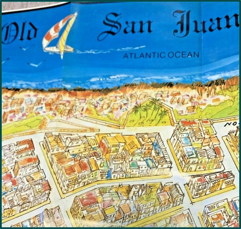 San Juan Puerto Rico Travel Brochure
