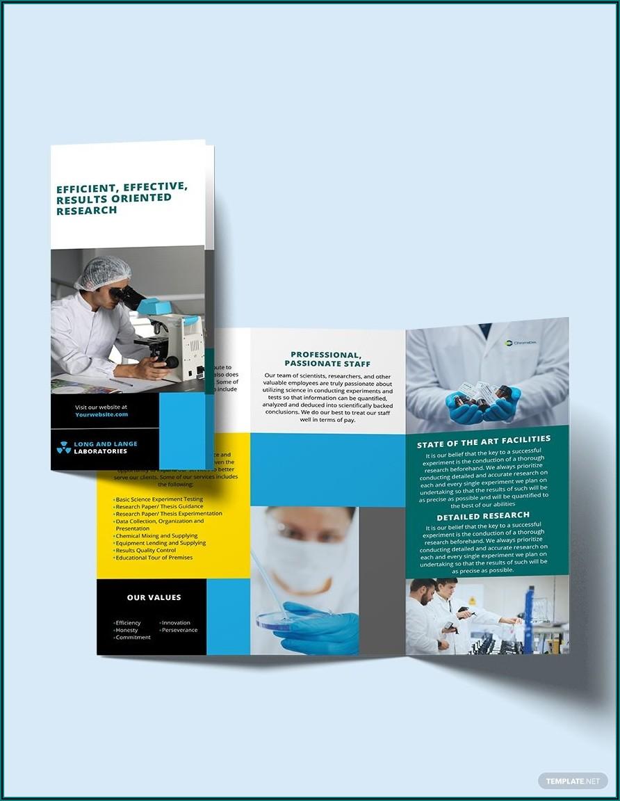 Science Brochure Template Doc