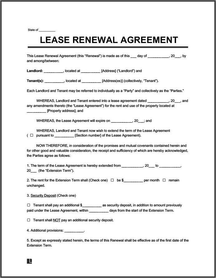Simple Rental Lease Agreement Template Free