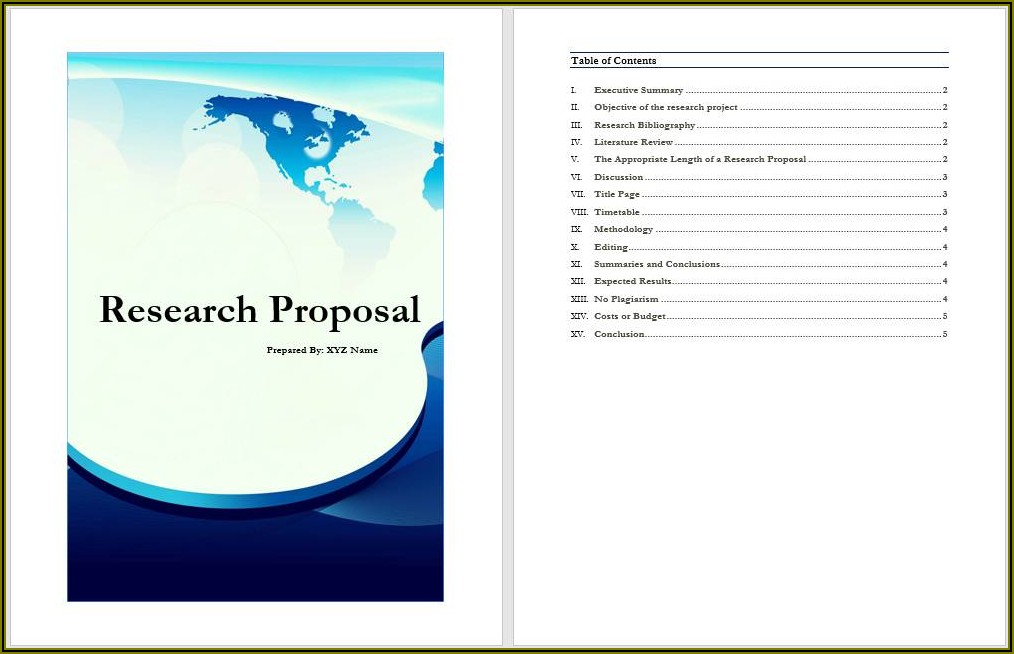 Software Proposal Template Word Free Download