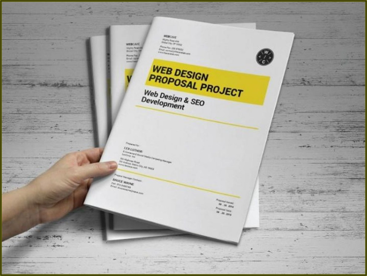 Software Proposal Template Word
