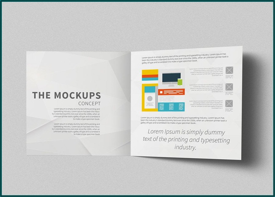 Standard Bi Fold Brochure Dimensions