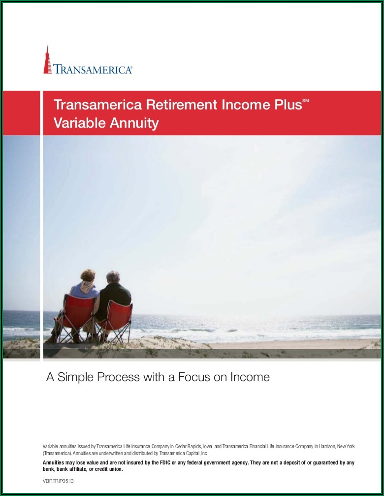 Transamerica Retirement Income Max Brochure