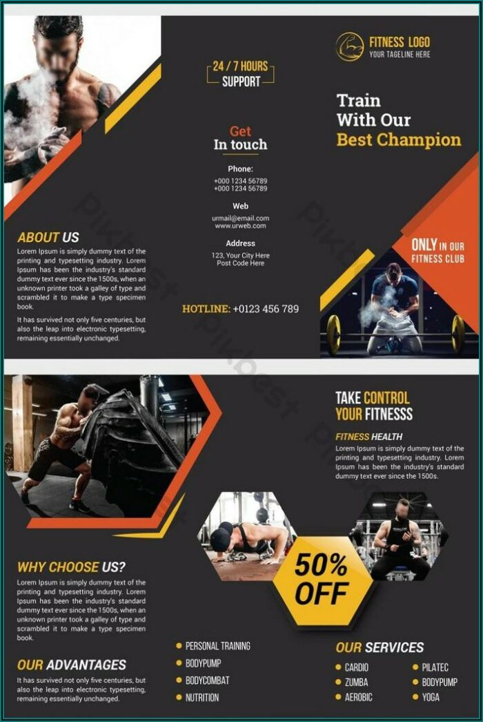 Tri Fold Brochure Design Ai Template Free Download