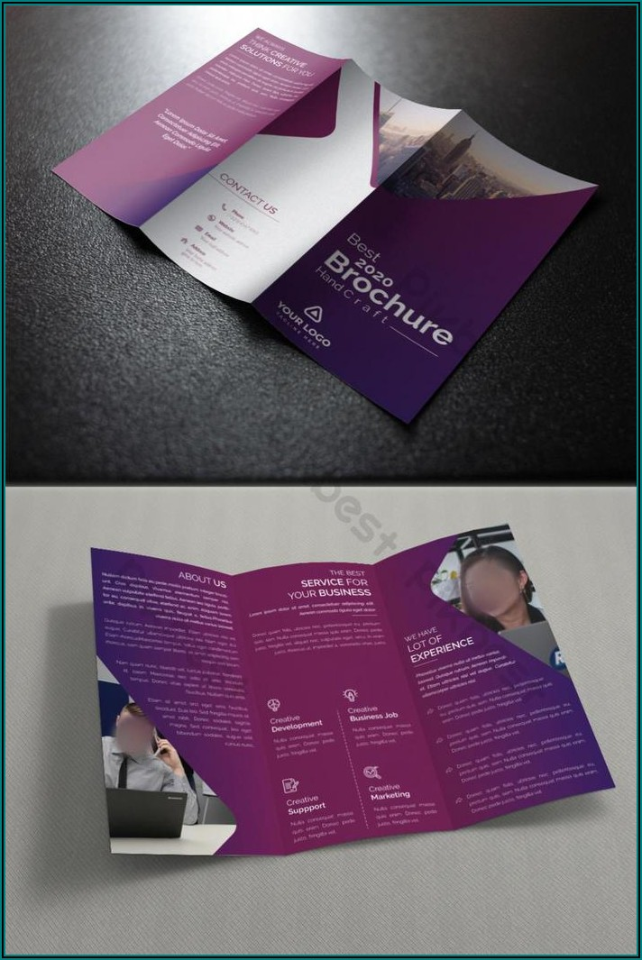Tri Fold Brochure Template Ai Download