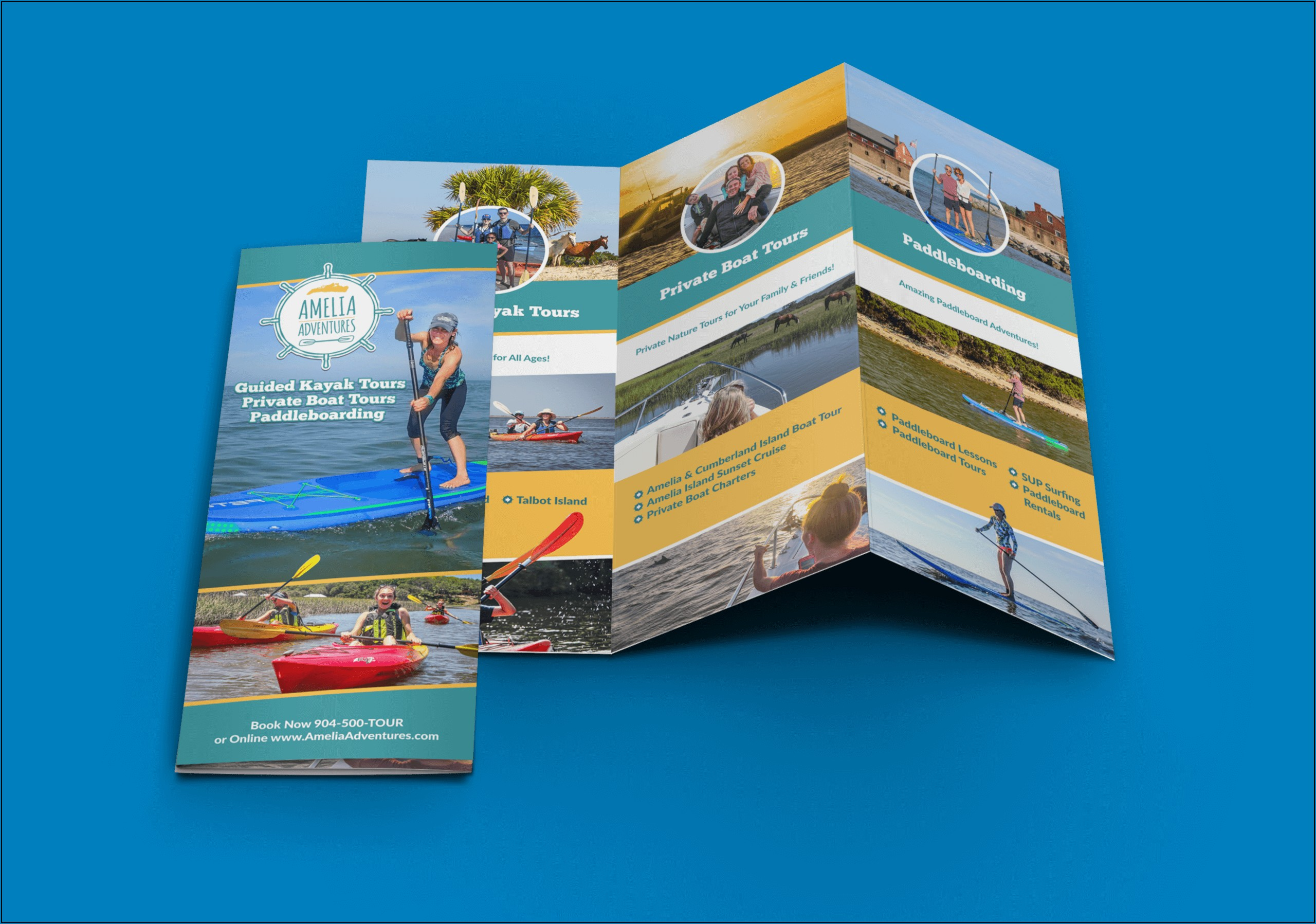 Tri Fold Brochure Template Vistaprint