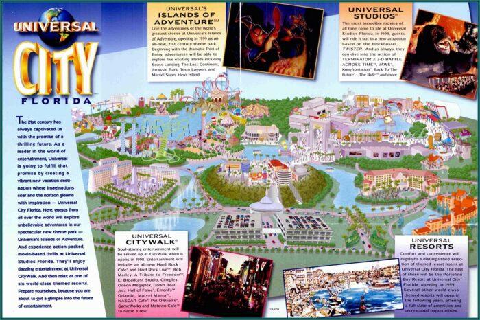 Universal Studios Orlando Brochure 2019