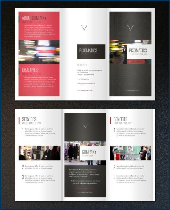 Vistaprint Tri Fold Brochure Template