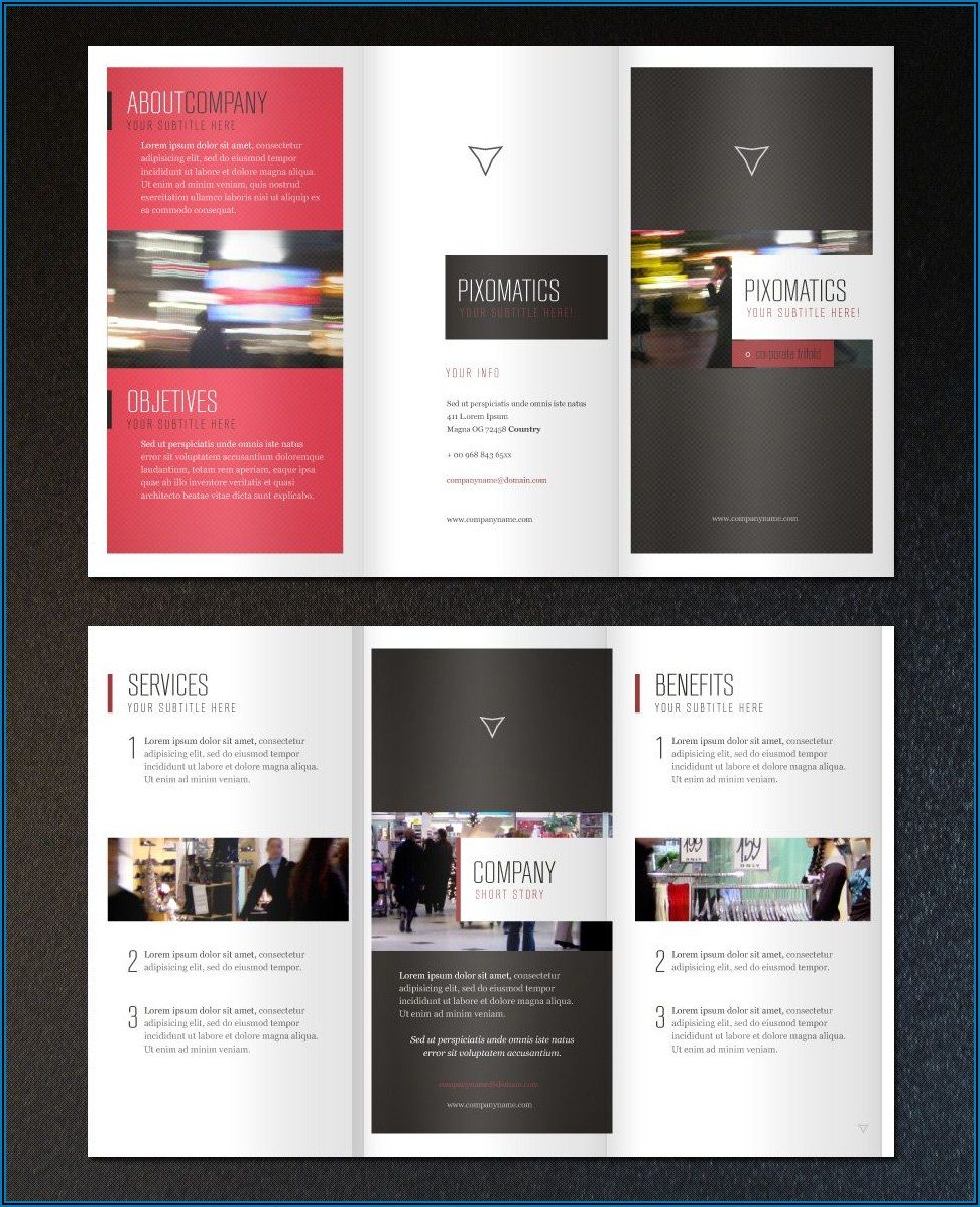 Vistaprint Tri Fold Brochure Template