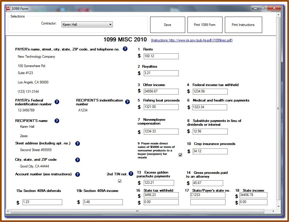 W9 Form Fill Out Online Free