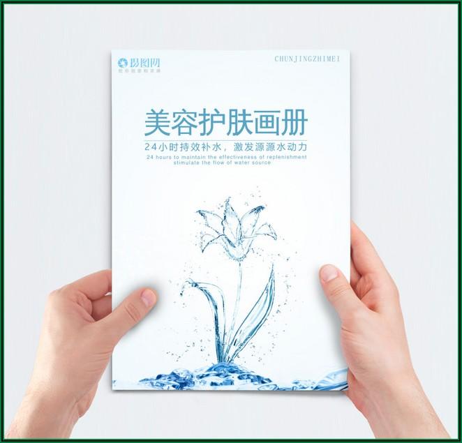 Water Brochure Template Free