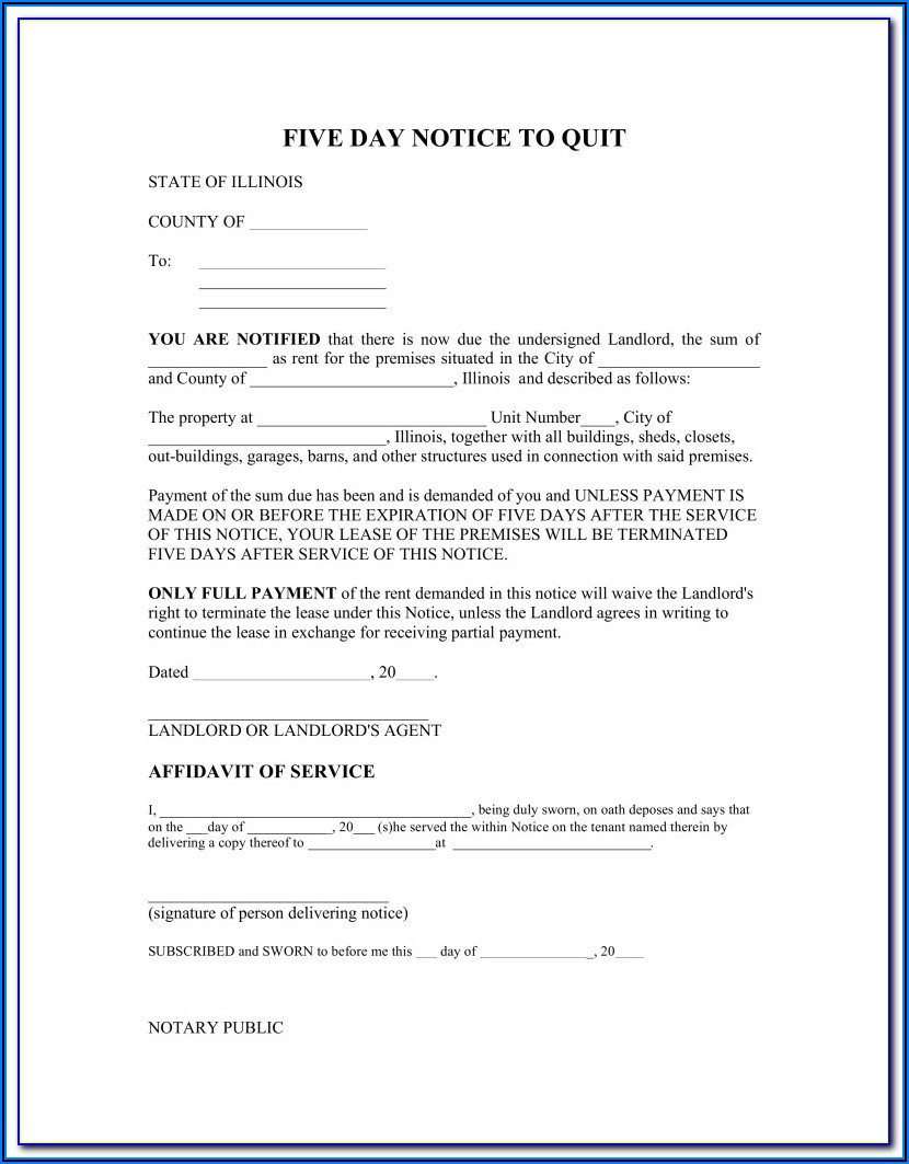 Wisconsin 28 Day Eviction Notice Form