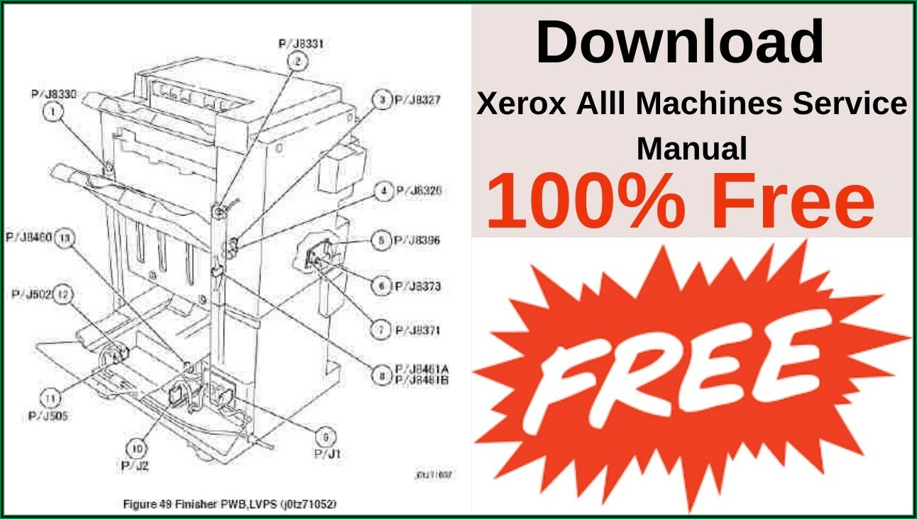 Xerox 5855 Service Manual Pdf