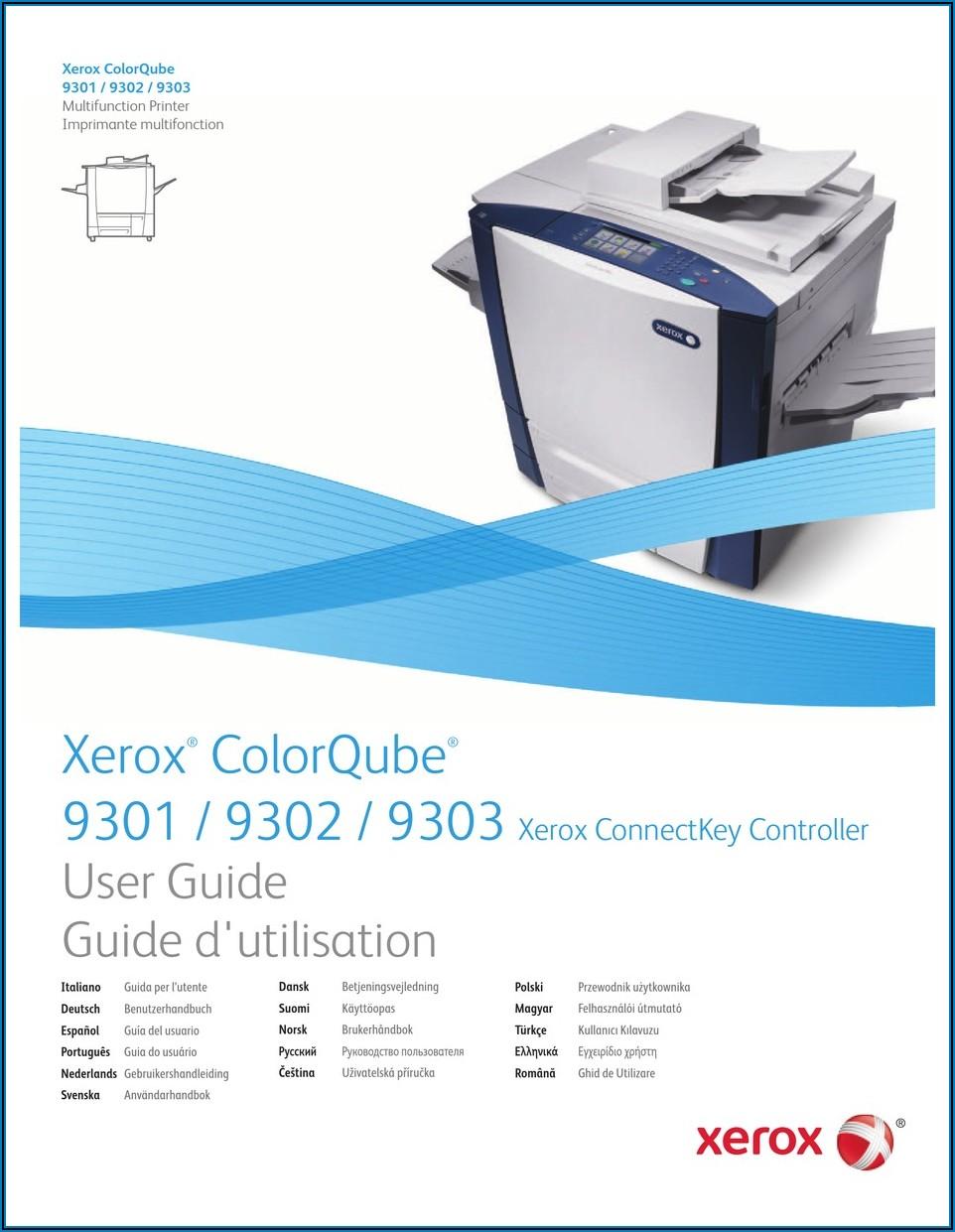 Xerox Colorqube 9301 Specs