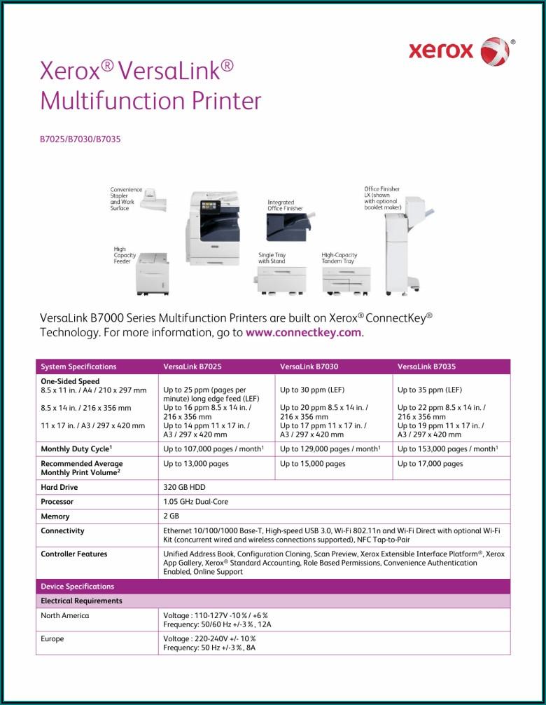 Xerox Versalink C505 Brochure