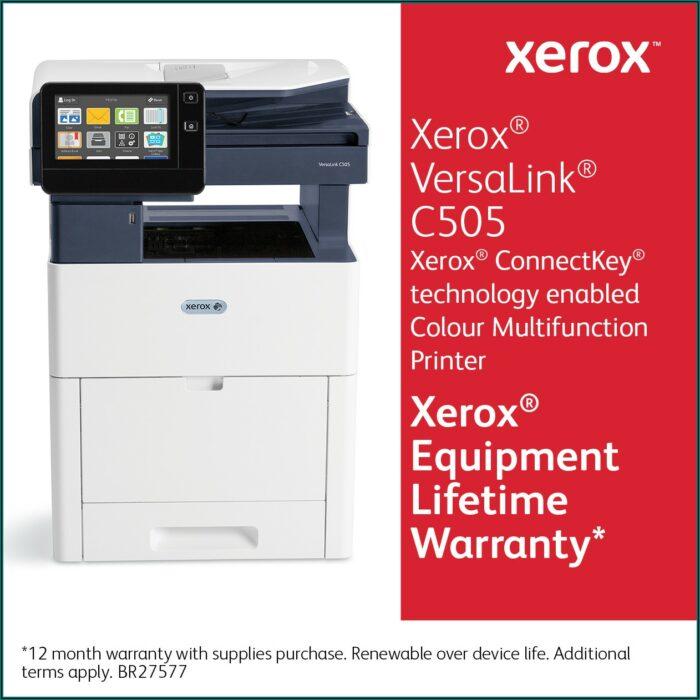 Xerox Versalink C505 Specs