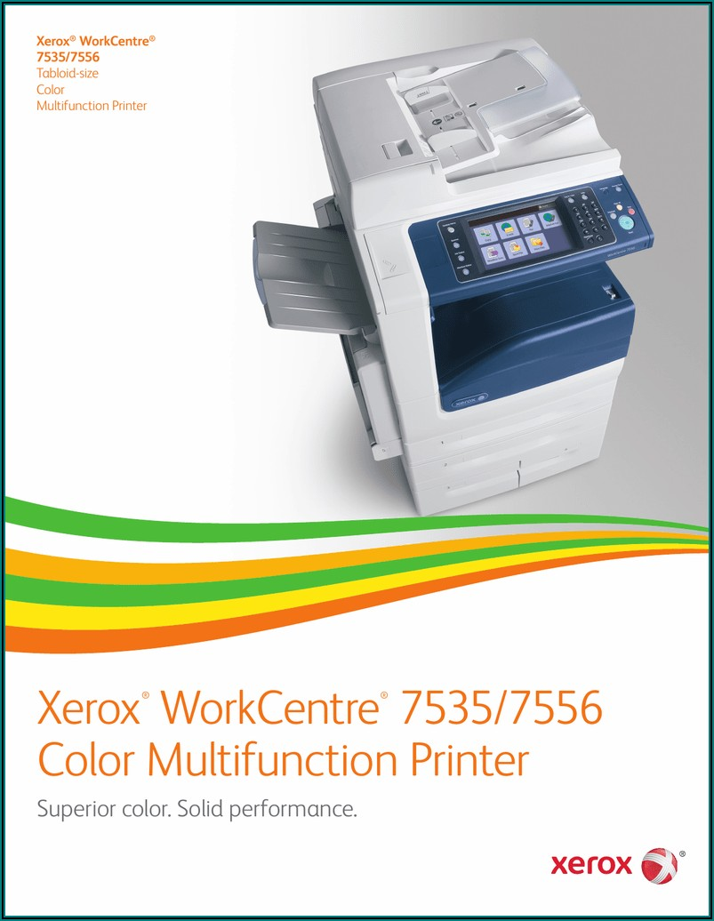 Xerox Wc 7535 Specifications