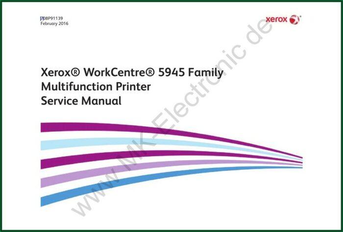 Xerox Workcentre 5945 Manual