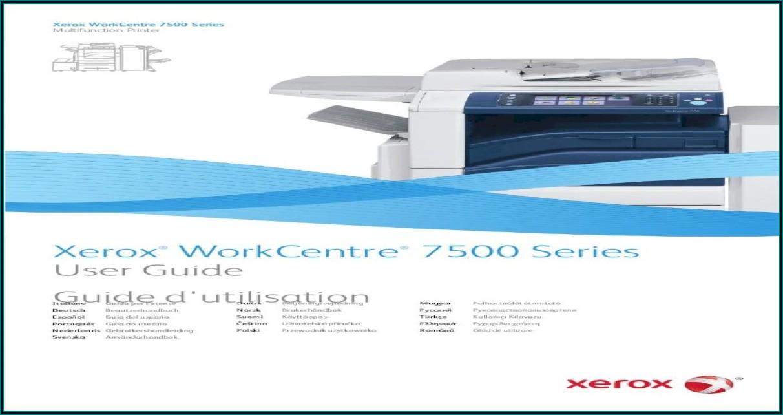 Xerox Workcentre 7535 Manual Pdf