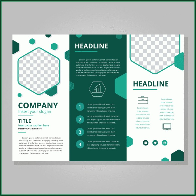 Z Fold Brochure Template Indesign