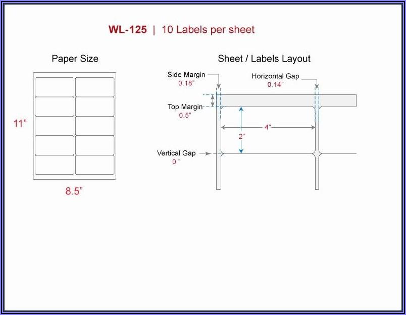 18 Labels Per Sheet Template Word