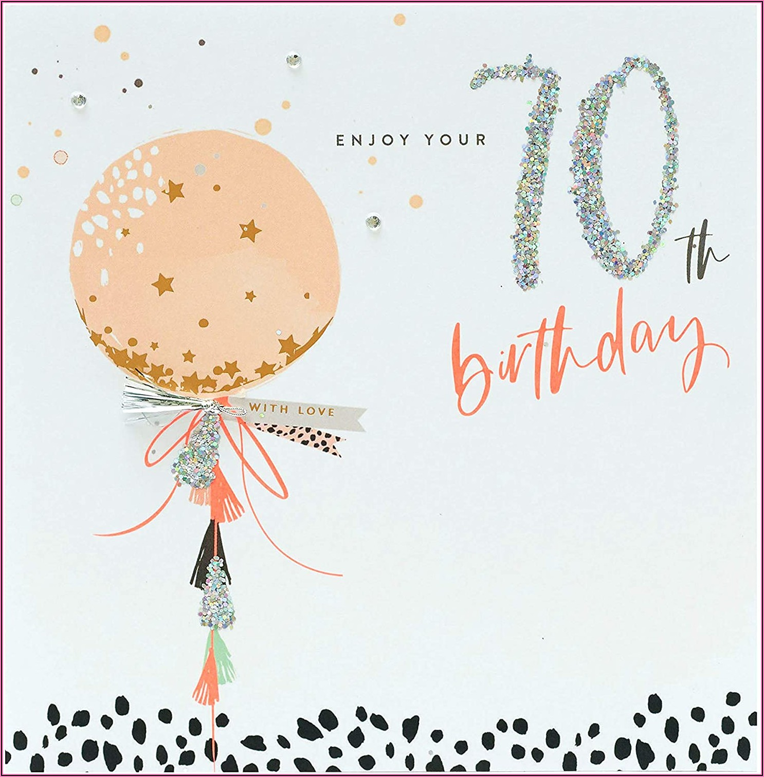 70th Birthday Invitations For Her