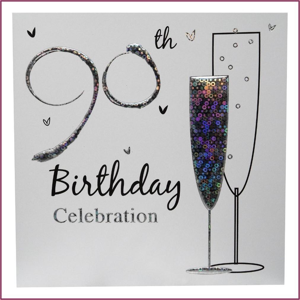 90th Birthday Party Invitations Online