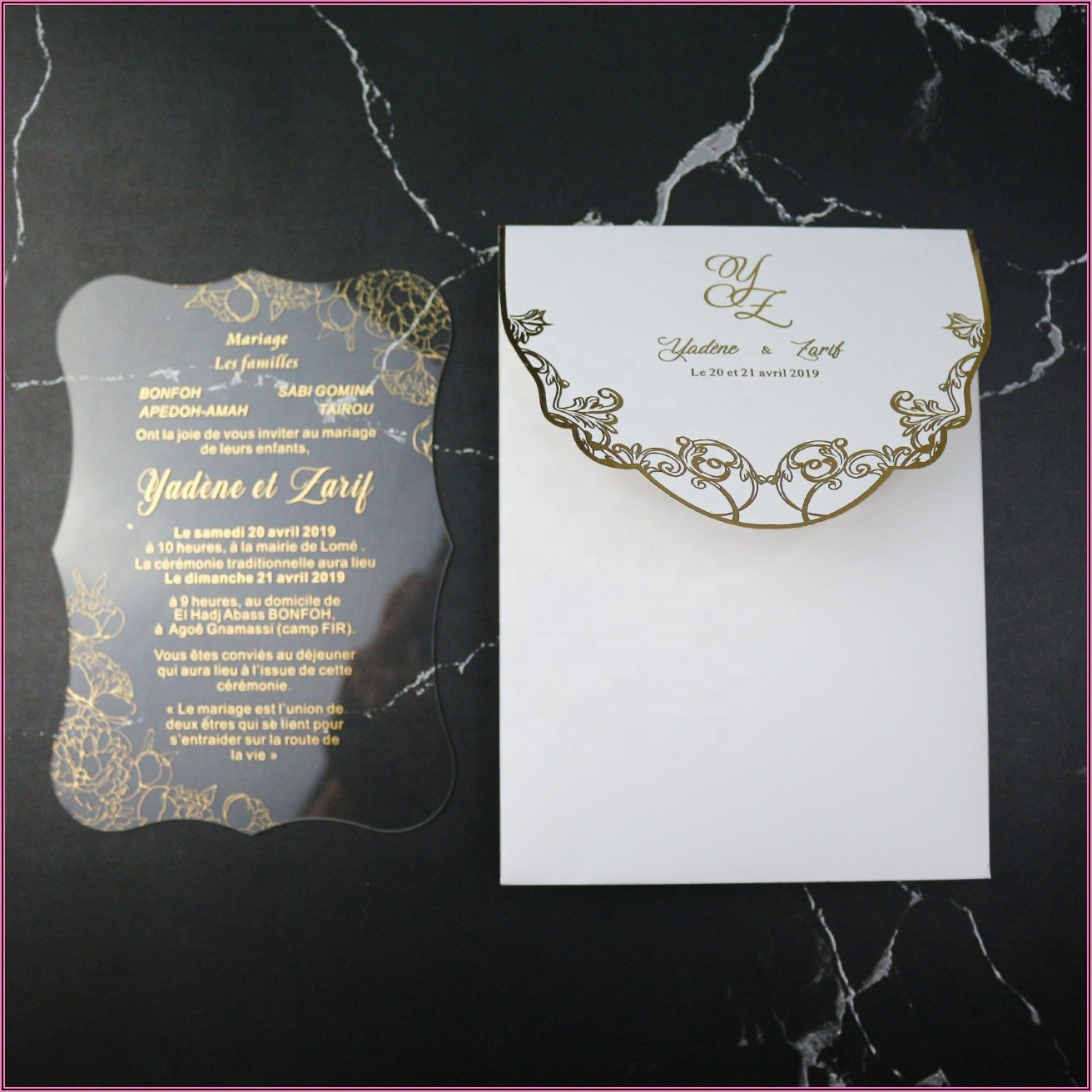 Affordable Wedding Invitation Packages Australia