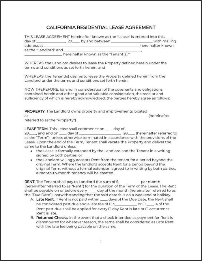 Asbestos Disclosure Form Rental California