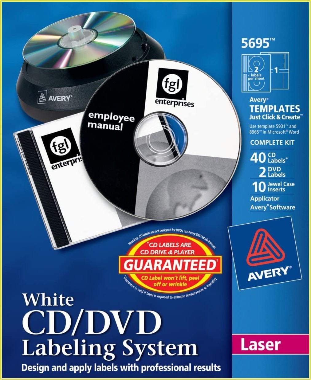 Avery Cd Labels Template