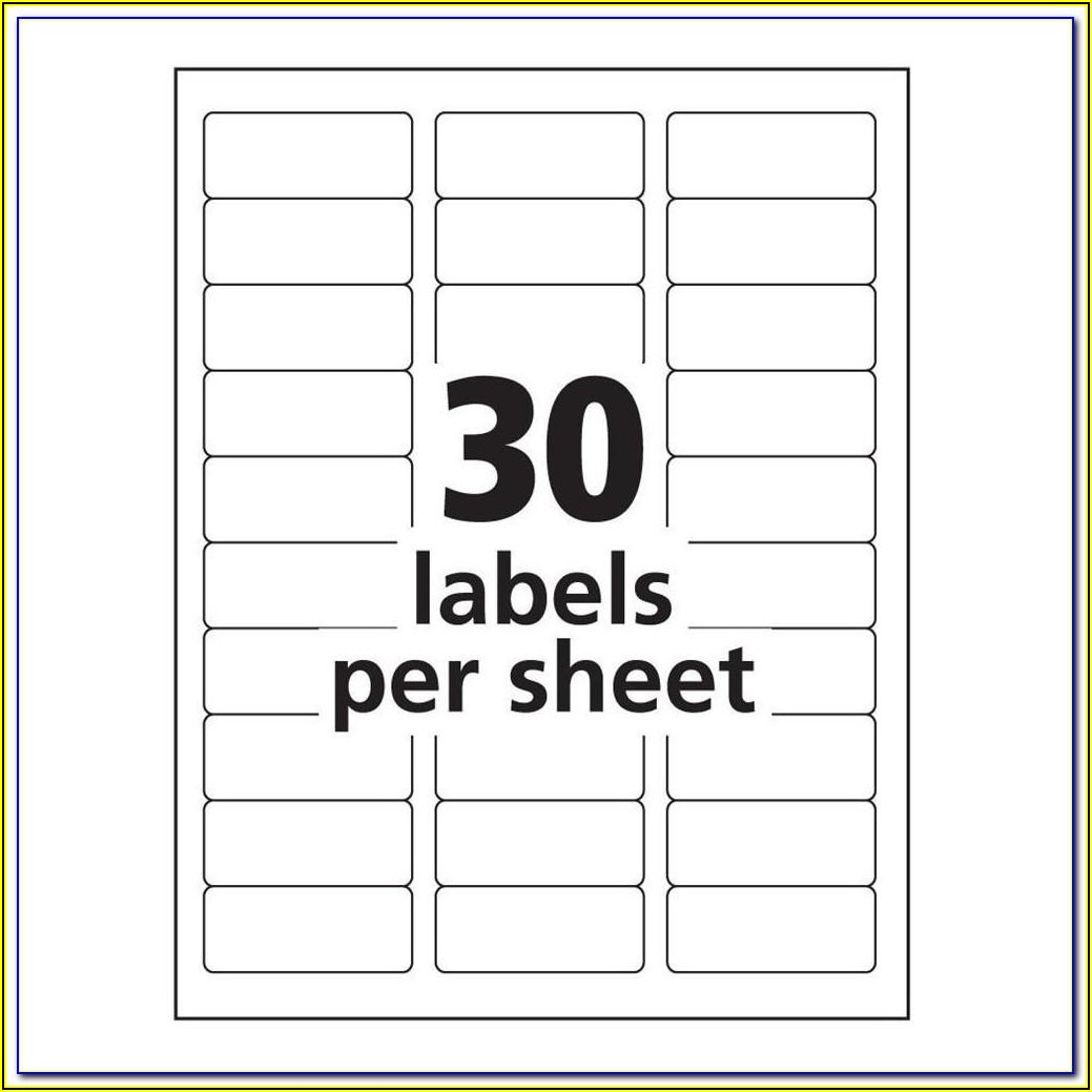 Avery Labels Templates Nz