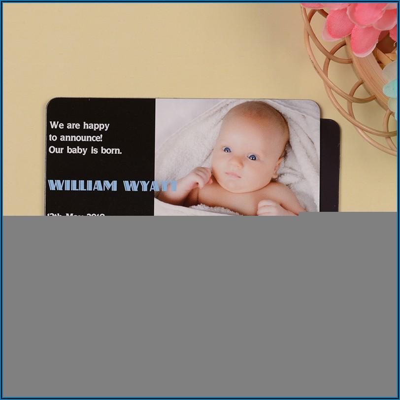 Birth Announcement Magnets Cheap