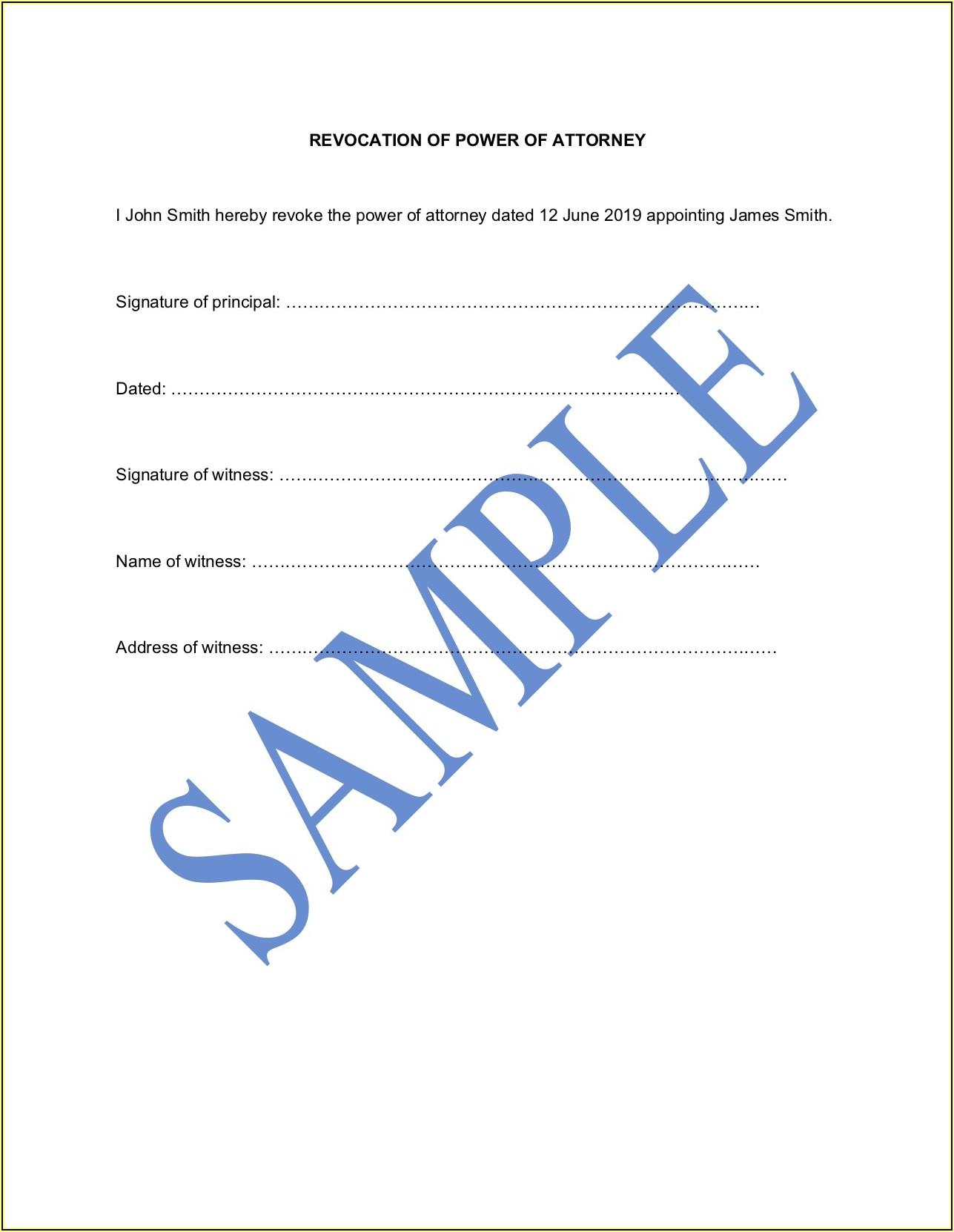 Blank Codicil Form Australia