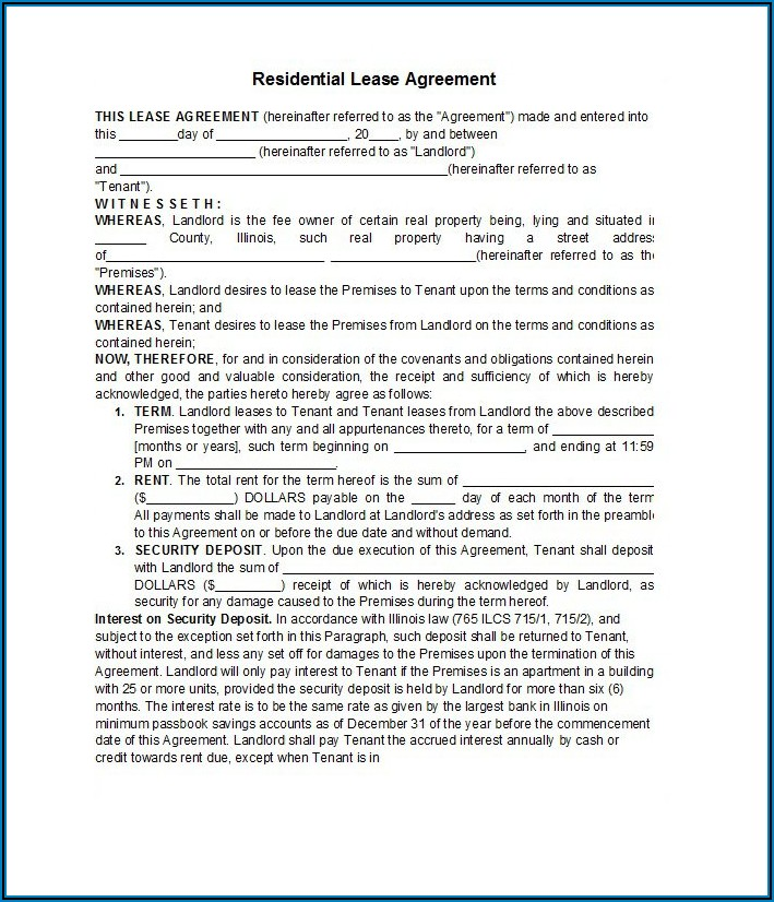 Business Lease Agreement Template South Africa