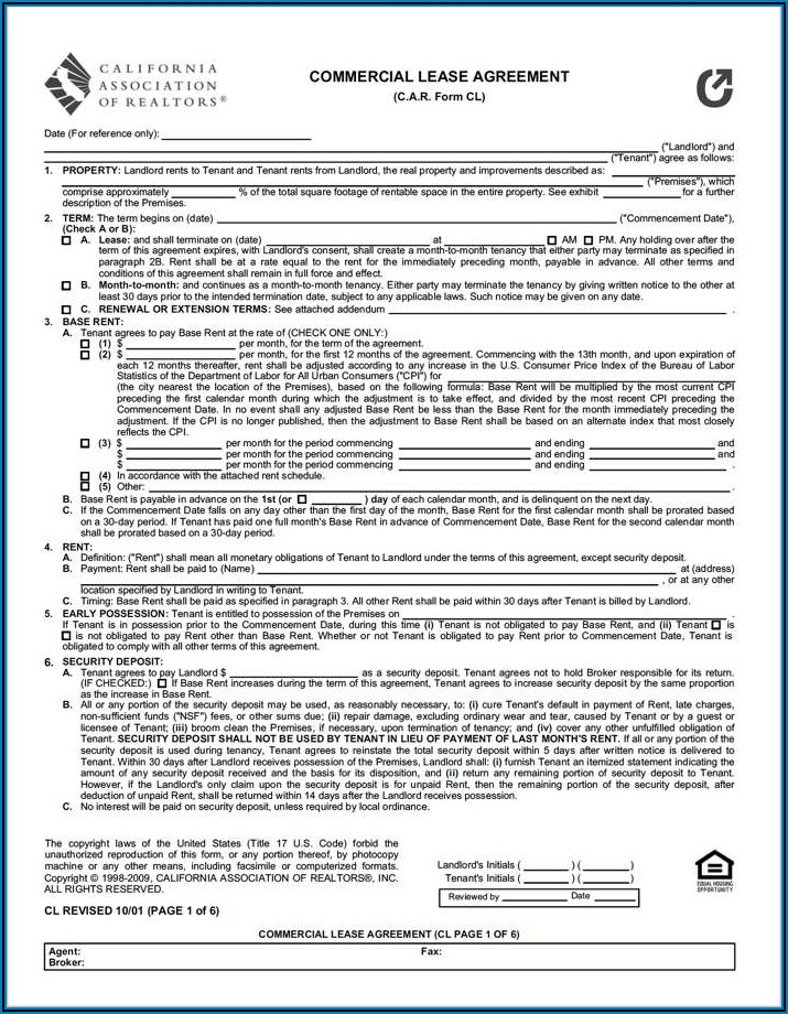 Car Lease Contract Sample