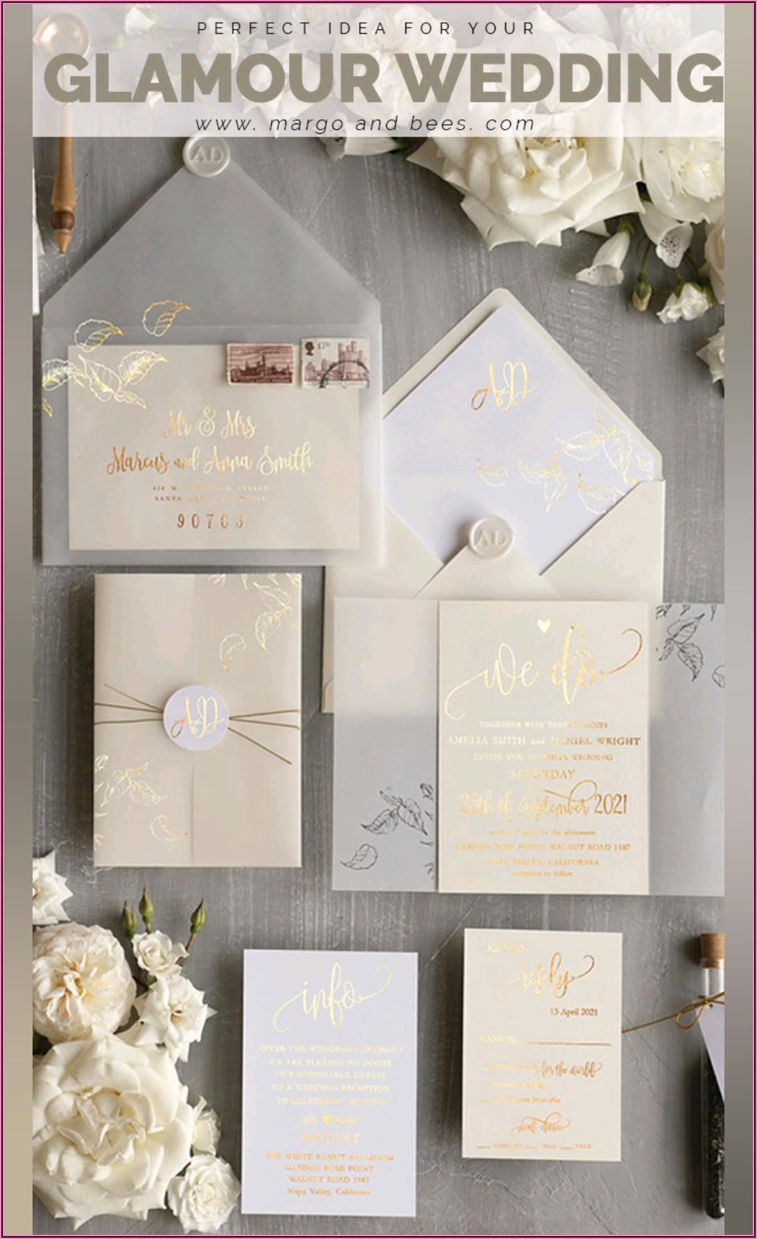 Classy Wedding Invitations Uk
