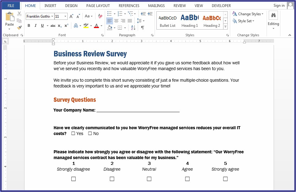 Convert Word Document To Pdf Fillable Form