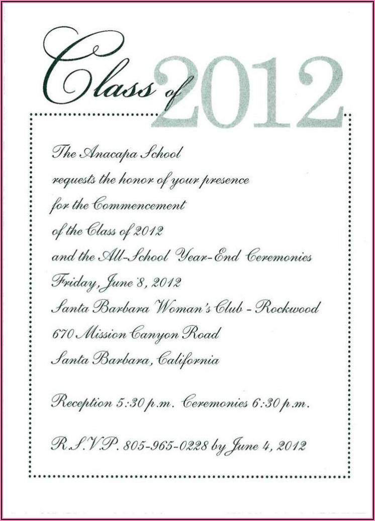 Downloadable Free Graduation Invitation Templates