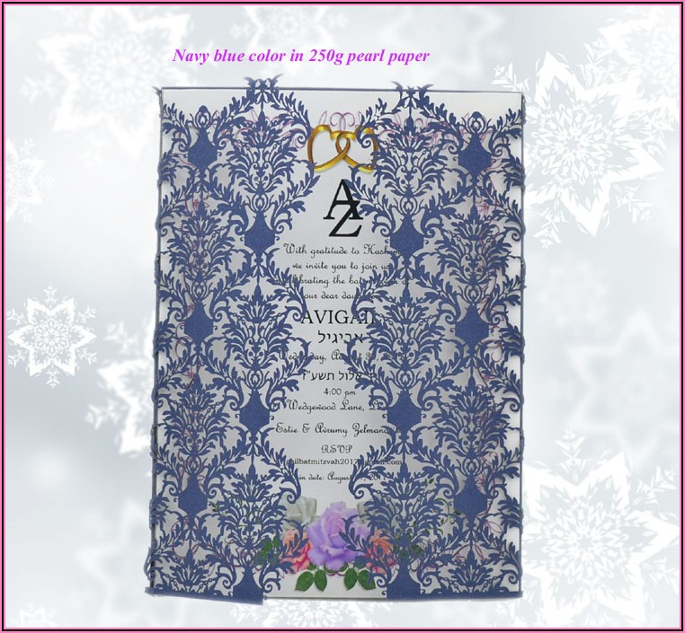 Elegant Wedding Card Ideas
