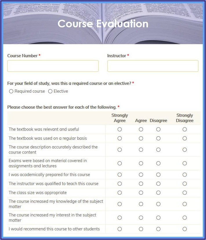 Excel Template Customer Satisfaction Survey