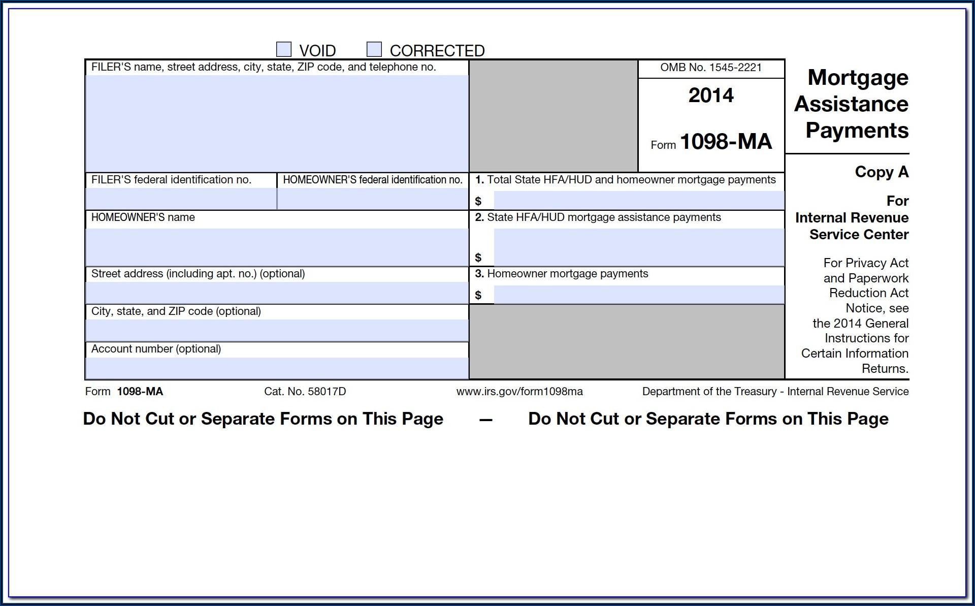 Filing 1098 T Tax Form
