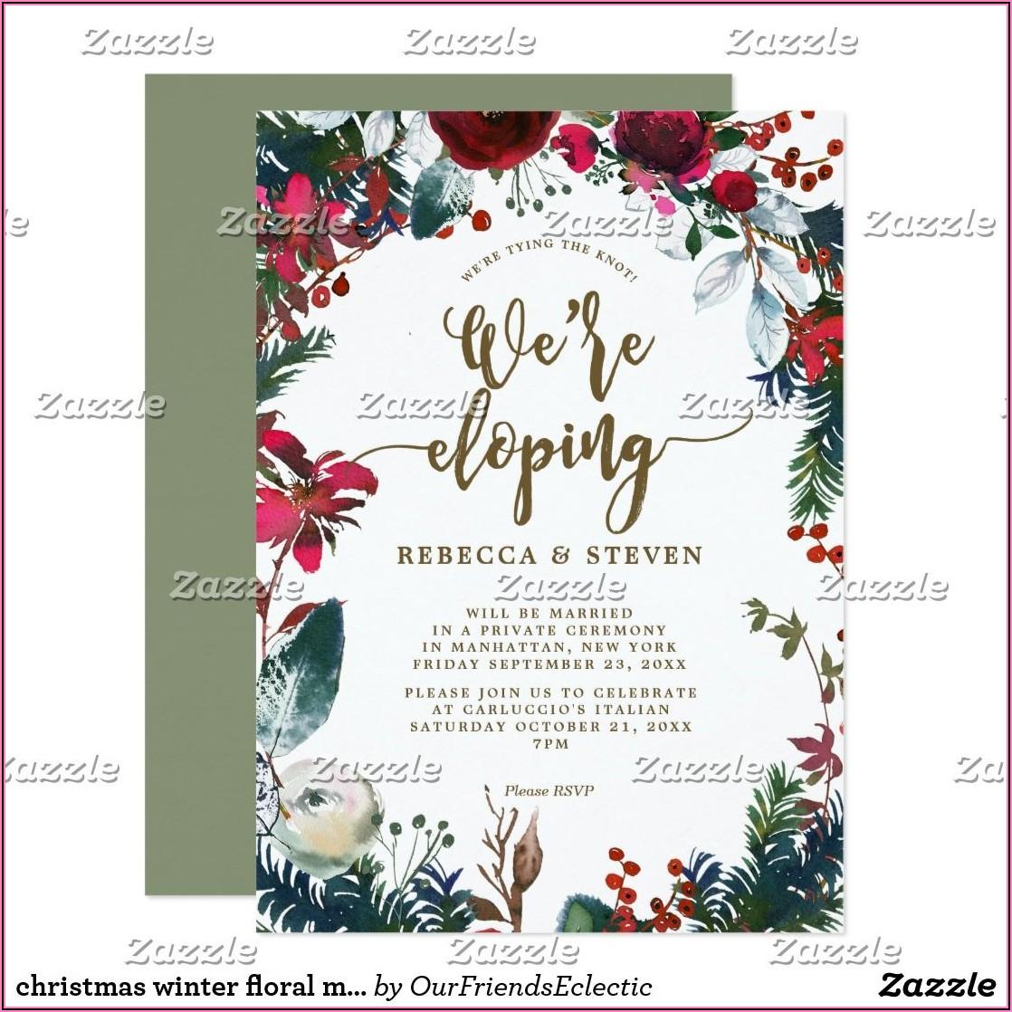 Floral Wedding Invitations Uk