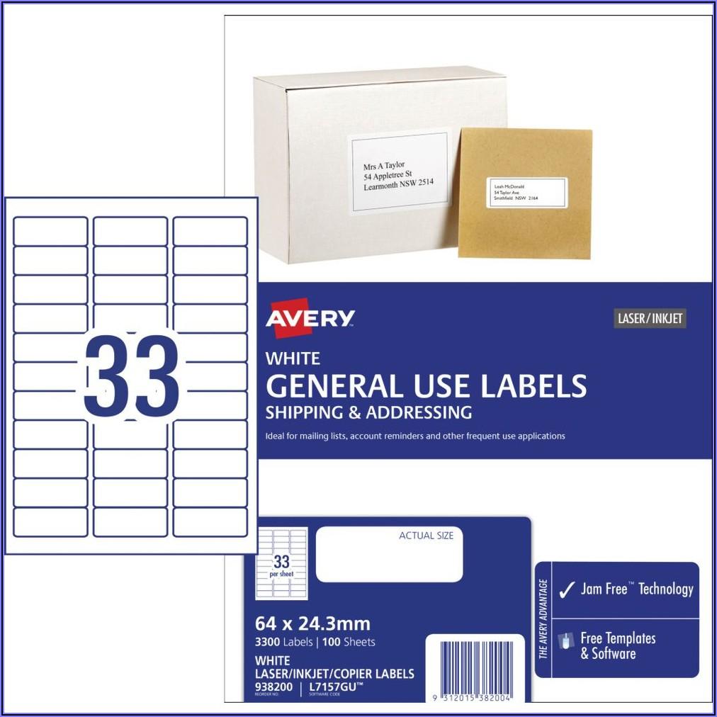 Free Address Labels Template 24 Per Sheet