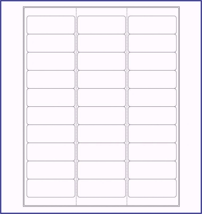 Free Address Labels Template