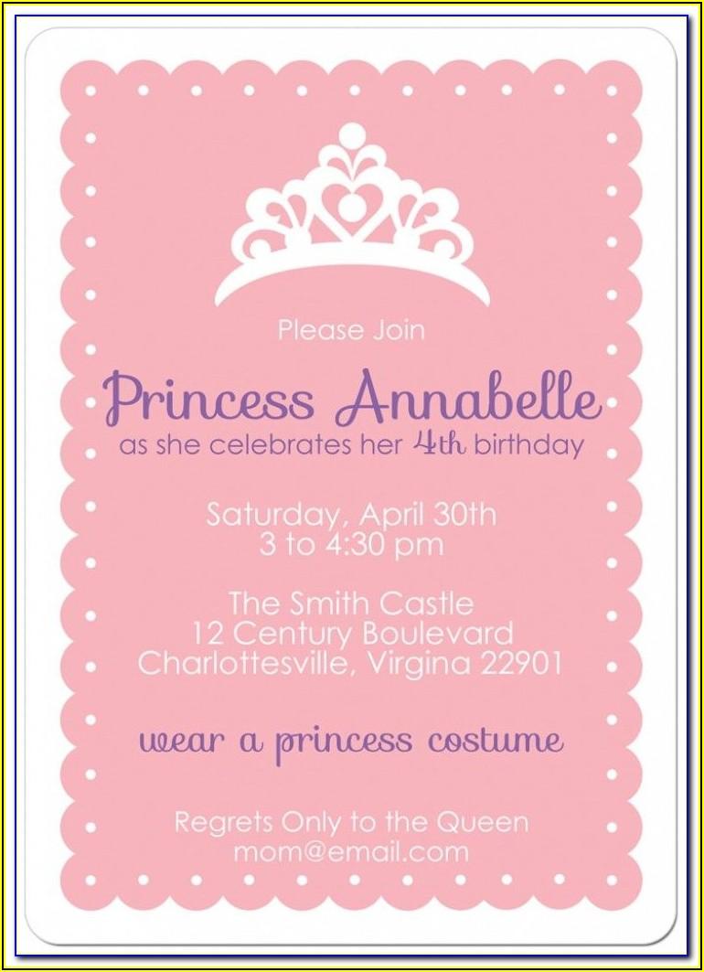 Free Birthday Party Invitation Templates With Photo