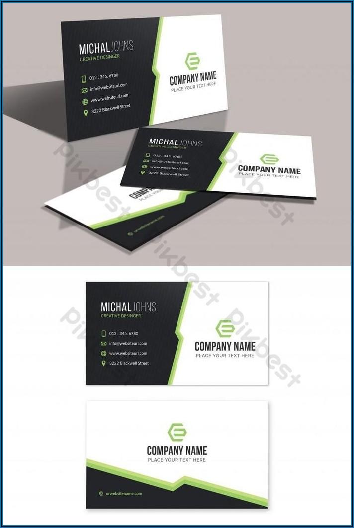 Free Business Card Templates Ai